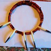 Need help!  Nazca Peru Indian Necklace,  Hawk, Raven, Bird? or Anteater, sloth, animal!!!
