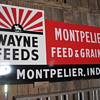 Wayne Feed sign