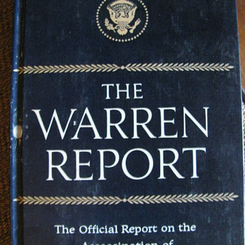 WARREN REPORT - Books