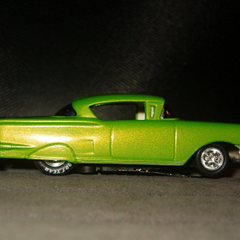 58 CHEVY IMPALA LOWRIDER H.O. SCALE AFX CHASSIS