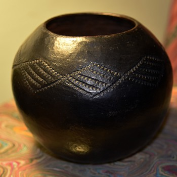 Swazi Beer Bowl - South Africa - Folk Art