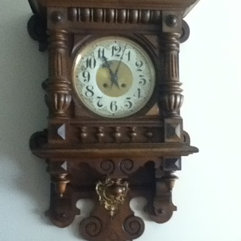 German Clock from Birkenfeld Castle - Clocks