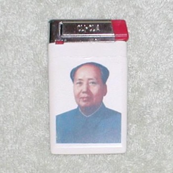 Mao butane wallet cigarette Lighter - Tobacciana