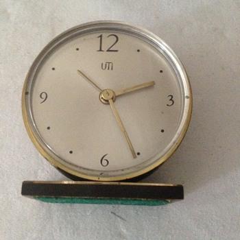 1960's Swiss Uti (Swiza) alarm clock.