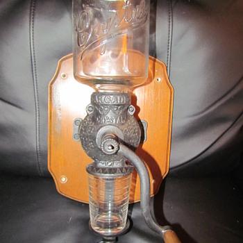 Vintage Crystal Arcade Coffee Grinder
