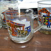 OLD GULF GLASSES.. AN OTHER OIL CO. ITEMS