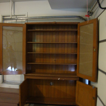 Vintage School Teacher Cabinet