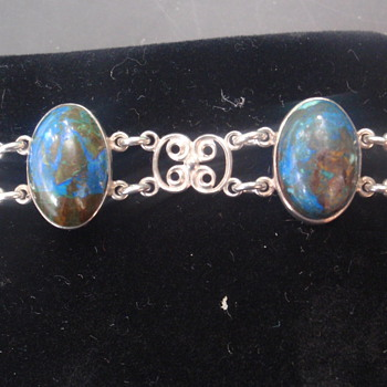 Arts & Crafts Lapis Bracelet - Arts and Crafts