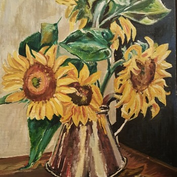 I love this pic of sunflowers - Visual Art