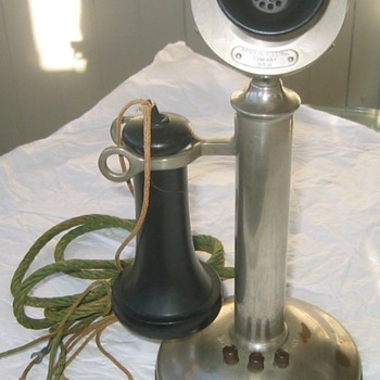 Western Electric 20T Intercom Candlestick Phone