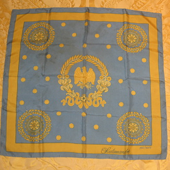 Kennedy Blue Room Commemorative Silk Scarf - Accessories