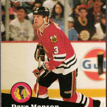 1991 - Hockey Cards (Chicago Blackhawks) - Hockey