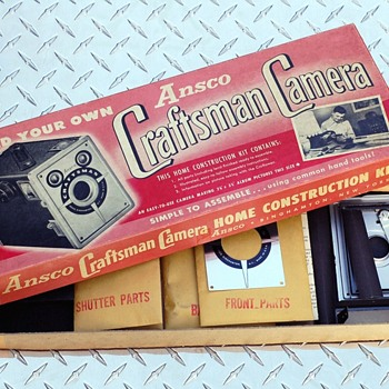 Ansco Craftsman Camera Kit - Cameras