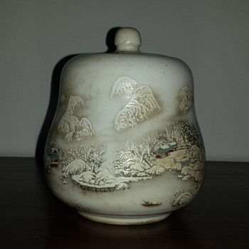 Porcelain Water Jar