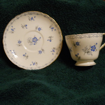 SHELLEY CUP AND SAUCER (NEED HELP ) - China and Dinnerware