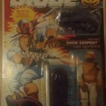 Gi Joe cobra enemy Snow serpant