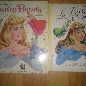 Disney' Sleeping Beauty books from France - Books