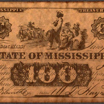 Confederate Currency - Novelty Note (Mississippi) - US Paper Money