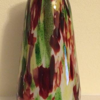 Franz Welz aventurine (mica) vase