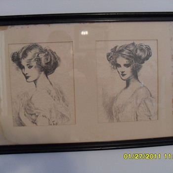 Gibson Girls??? Can anyone tell me? - Posters and Prints