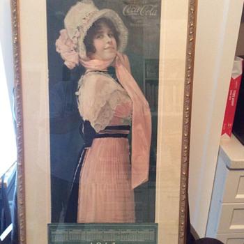 Betty 1914 calendar