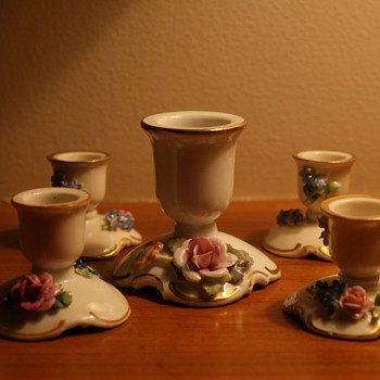 von Schierholz Porcelain Candle Holders