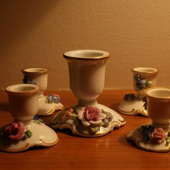 von Schierholz Porcelain Candle Holders