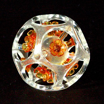 Three Jory Glass paperweights
