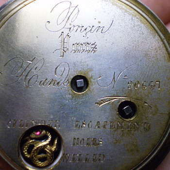 Unknown Watch.Any help would be grateful. - Pocket Watches