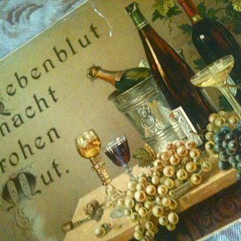 1880's original lithograph - german-