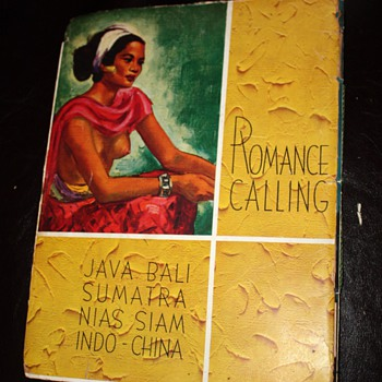 KPM Cruise Brochure - Romance Calling - Java Bali Sumatra Nias Siam Indo-China - Advertising