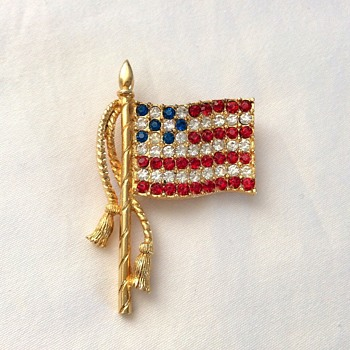 Flag Brooch!