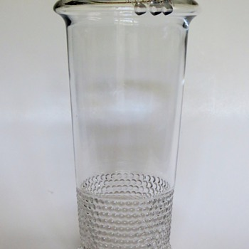 Art Nouveau Vase~Unusual Design~Any Idea who the maker might be? - Glassware