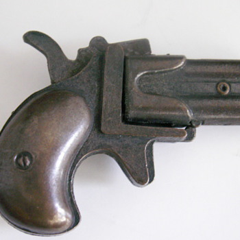 Double Barrel Derringer Cap Gun