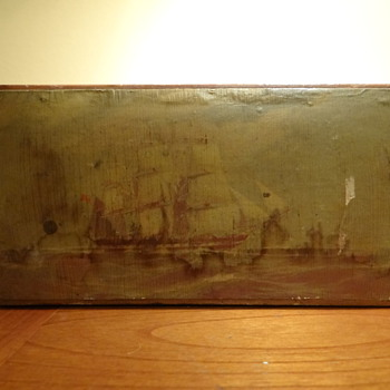 C.1920S ABERCROMBIE & FITCH CO. WOODEN BOX -ENGLAND