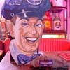 Standard Oil Attendant Cutout...Standard Oil Attendant Hat