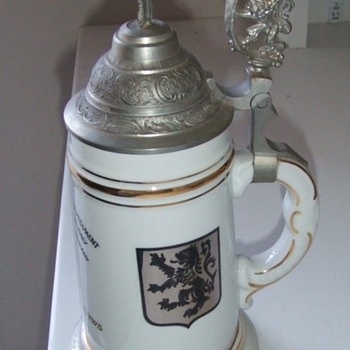 "28th Infantry ""Black Lions"" German Occupation Stein"