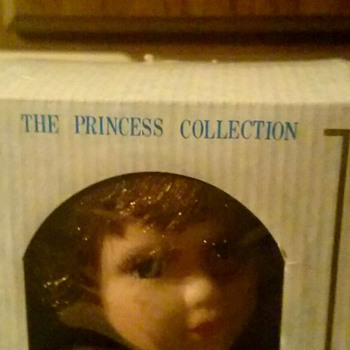 One of my first as a child, princess collection