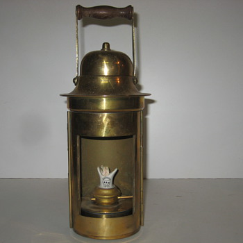 Old Brass Lantern - Lamps