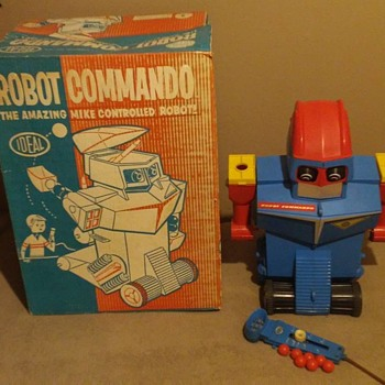 1960's Ideal Robot Commando