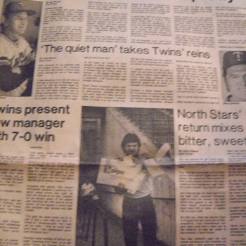 Johnny Groyl fired as Twins manager - 1981