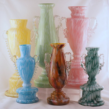 Welz Shapes and Décors - A Few More Groups #5 - Art Glass