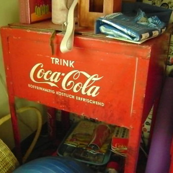 German Coke Ice Box