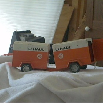 u haul trucks - Model Cars
