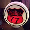 1939-1946 Non-Ethyl Premium Grade Phillips 77 Gas Globe