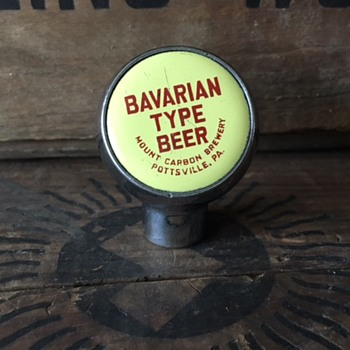 Bavarian Type Beer Ball Tap - Breweriana