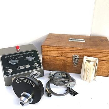 Color Contrast Microscopy  Apparatus
