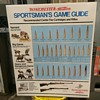 Winchester-Western Sportsman Game Guide sign