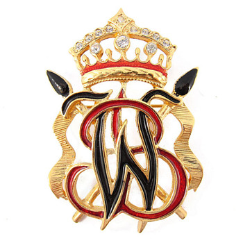 Original Vintage Signed 'Butler & Wilson' Brooch c. 1970 - Costume Jewelry