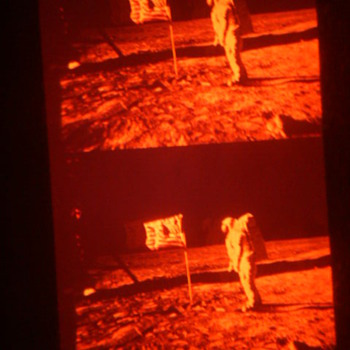 Apollo 11 transparancies - Photographs